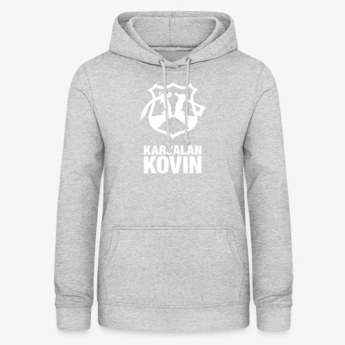 Karjalan Kovin Iso logo - Naisten huppari