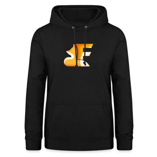 Logo senza sfondo FRONTE - Felpa con cappuccio da donna