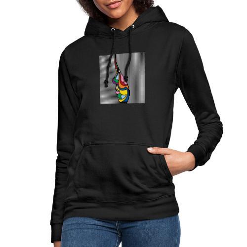 Art - Sudadera con capucha para mujer