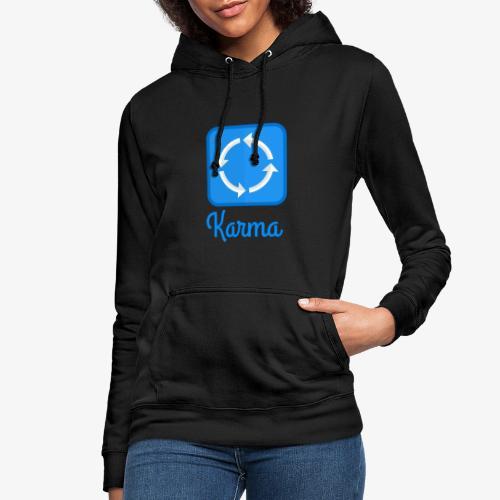 Karma - Frauen Hoodie