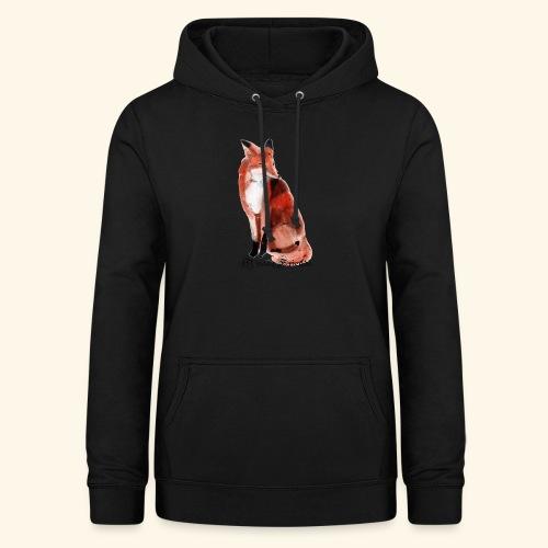 FOX - Felpa con cappuccio da donna