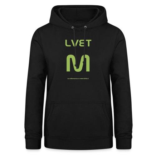 LVET M vert olive - Sweat à capuche Femme