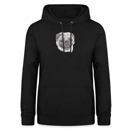 Pug mops 2 - Dame hoodie
