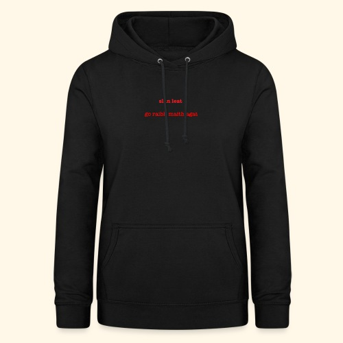 Good bye and thank you - Women's Hoodie