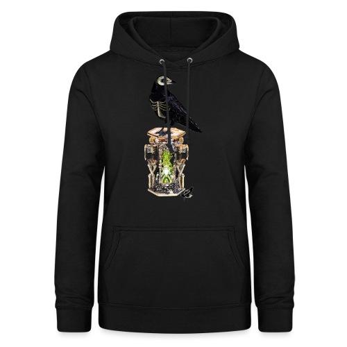 'Memento Mori' by BlackenedMoonArts - Dame hoodie