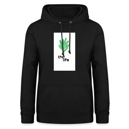 thc Life - Sudadera con capucha para mujer