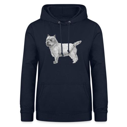 cairn terrier - Dame hoodie