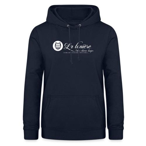 La Tanière des Chiens-Loups (logo plus grand) - Sweat à capuche Femme
