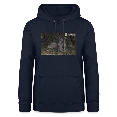 La Tanière des Chiens-Loups - Sweat à capuche Femme