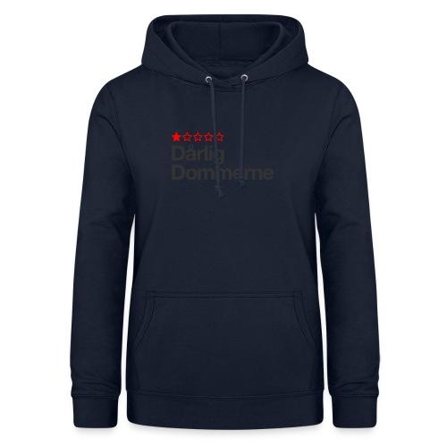 Dårligdommerne Sort tekst - Dame hoodie