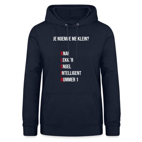 KLEINTJE - Vrouwen hoodie