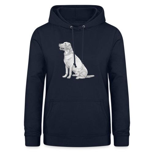 labrador Retriever Gul - Dame hoodie