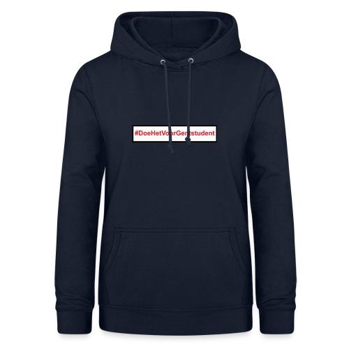 #DoeHetVoorGentstudent - Vrouwen hoodie