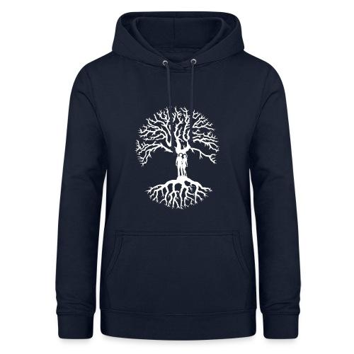 tree of life arbre de vie couple amoureux blanc - Sweat à capuche Femme