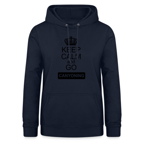 keep calm and go canyoning 2 - Frauen Hoodie