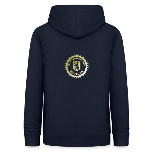 Logo klein ESU gold - Frauen Hoodie