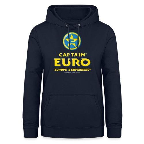 DISPOSITIVO OFICIAL DE LA MARCA CAPTAIN EURO® - Sudadera con capucha para mujer