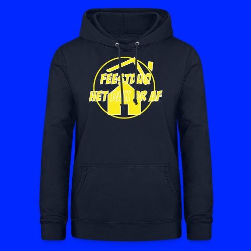 Geel Logo - Vrouwen hoodie