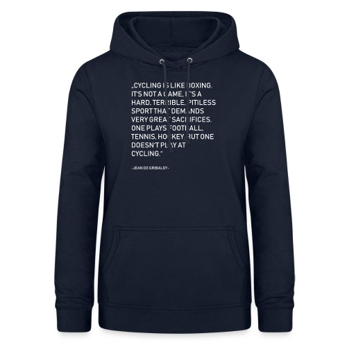 Cycling is no Game - Frauen Hoodie