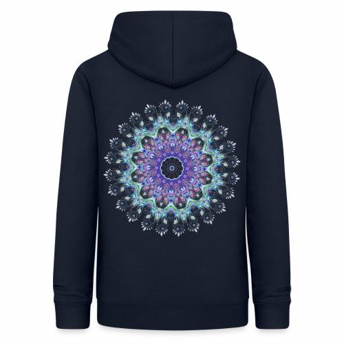 Lilla mandala pastel - Dame hoodie