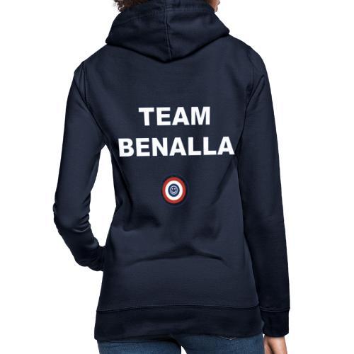 Team Benalla - Sweat à capuche Femme