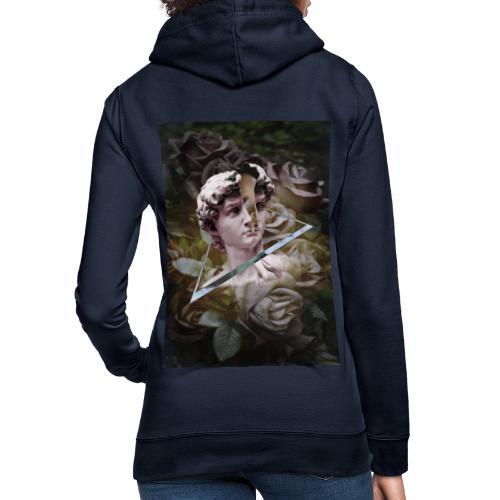 camisa david estampado largo - Sudadera con capucha para mujer