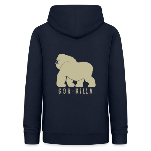 Gor-Killa - Felpa con cappuccio da donna