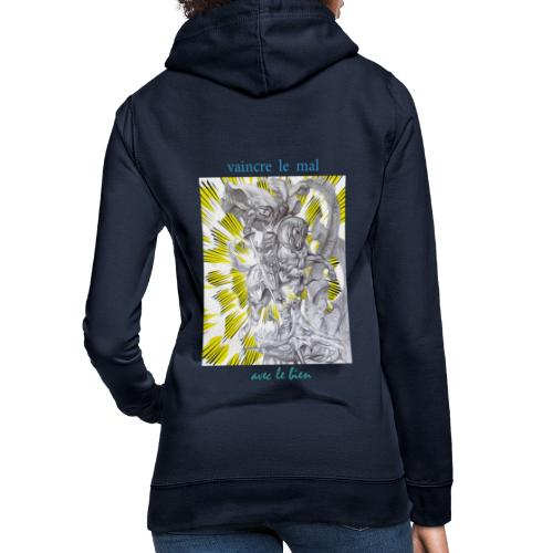C13 - Sudadera con capucha para mujer