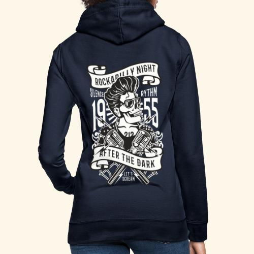 Rockabilly Night - Frauen Hoodie