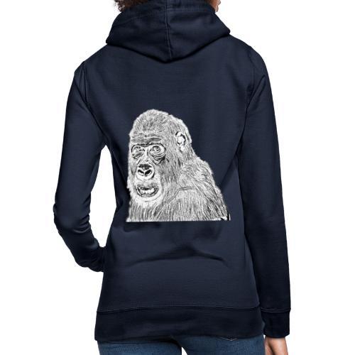 singe - Sweat à capuche Femme