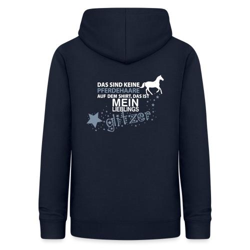 Vorschau: Glitzer Pferd - Frauen Hoodie