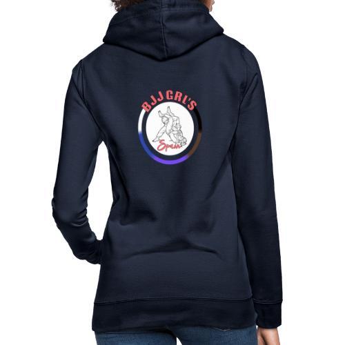 BJJGIRLSPAIN - Sudadera con capucha para mujer