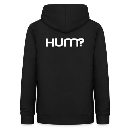 logo hum? - Vrouwen hoodie