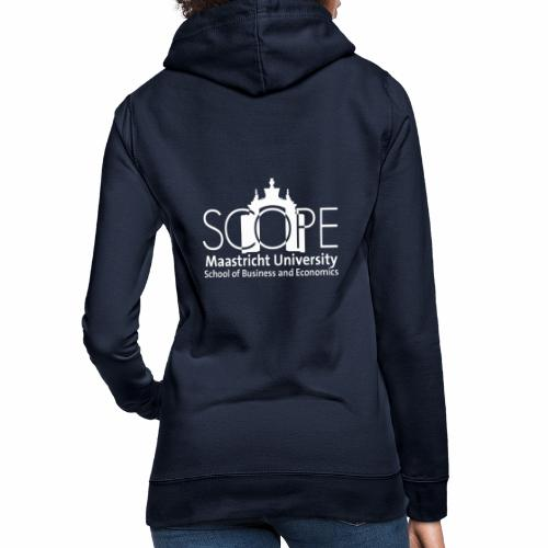 SCOPE Logo White - Women's Hoodie