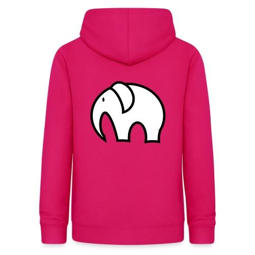 olifant pictogram - Vrouwen hoodie