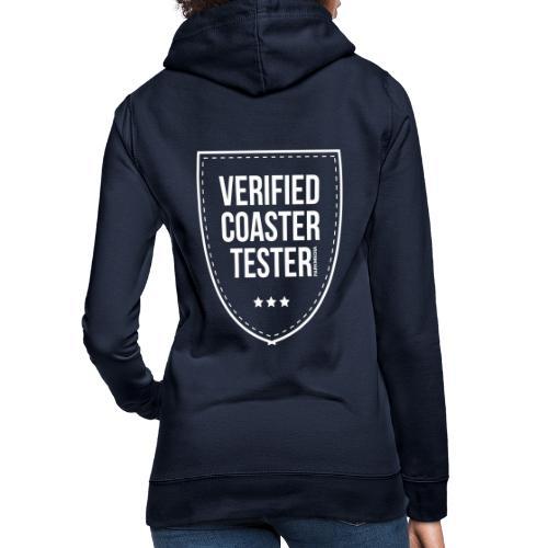 Badge CoasterTester vérifié - Sweat à capuche Femme