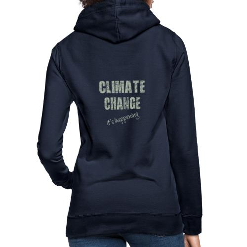Climate change - Vrouwen hoodie
