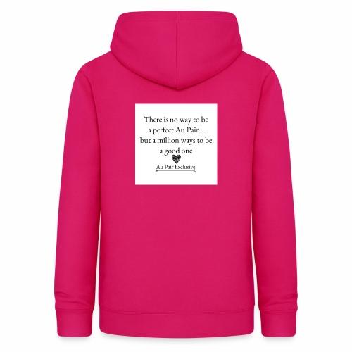 Perfect au pair - Vrouwen hoodie
