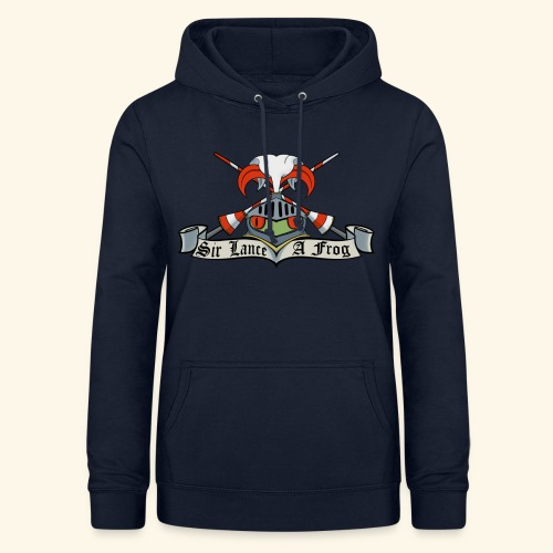 Sir Lance-a-frog Coat of Arms - Women's Hoodie