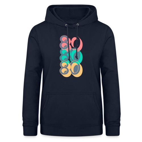 Colorful Lines TV Pop Culture T Shirt 1 - Sudadera con capucha para mujer