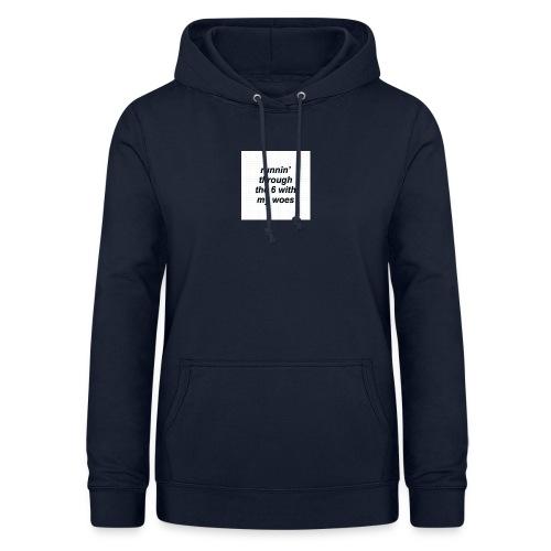 cap woes - Vrouwen hoodie
