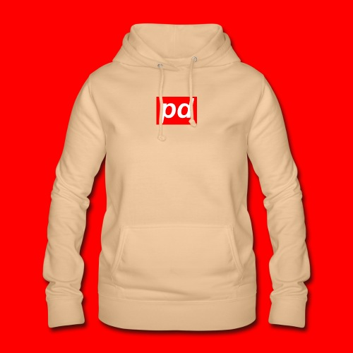 pd Red - Dame hoodie