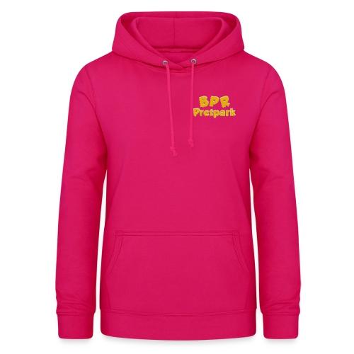 BPR Pretpark borstlogo - Vrouwen hoodie