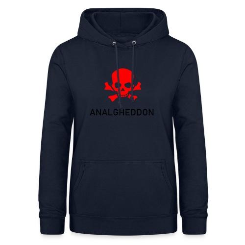 ANALGHEDDON Lustiges T-Shirt Design - Frauen Hoodie