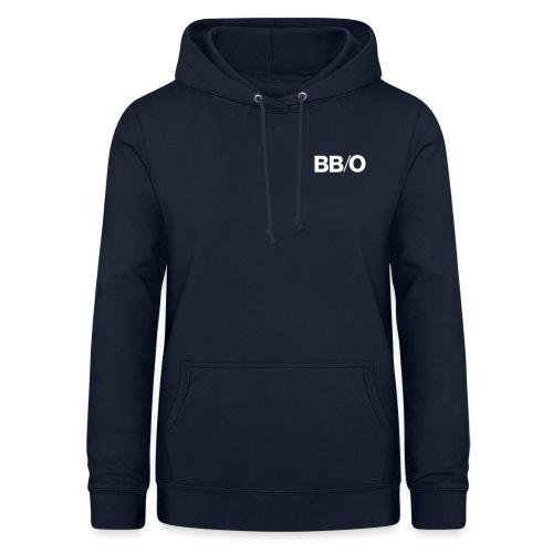 bbo logo Kurzschriftzug - Frauen Hoodie