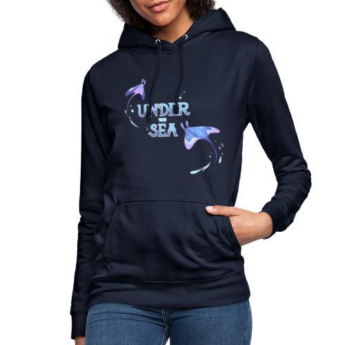 Under the Sea Mantas - Women's Hoodie