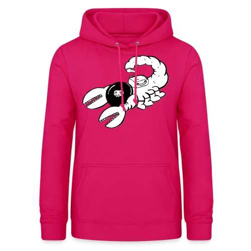 Space Scorpions?! (Black and White) - Women's Hoodie