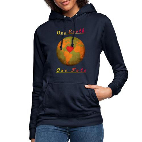 One Earth One Fate - Frauen Hoodie