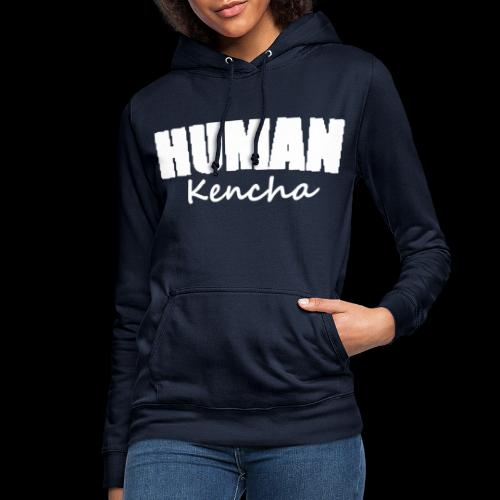 human wit - Vrouwen hoodie