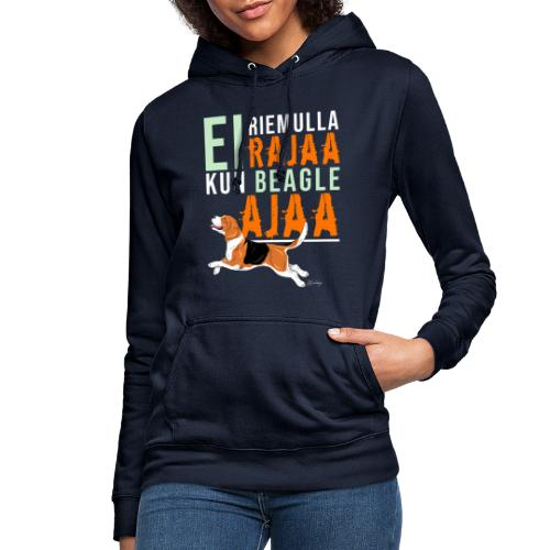 Riemulla Rajaa Beagle - Naisten huppari